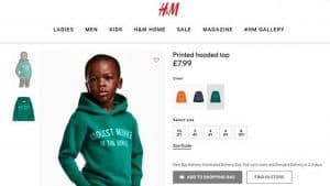 H&M Mistake